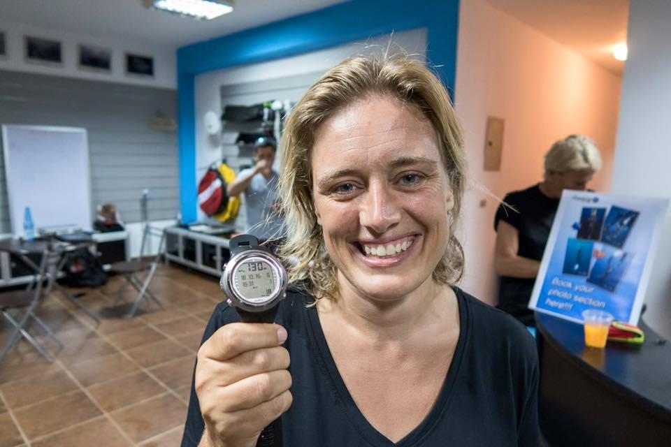 Nanja van den Broek World record holder