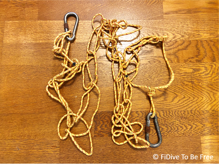 FiDive Freediving Guide Rope