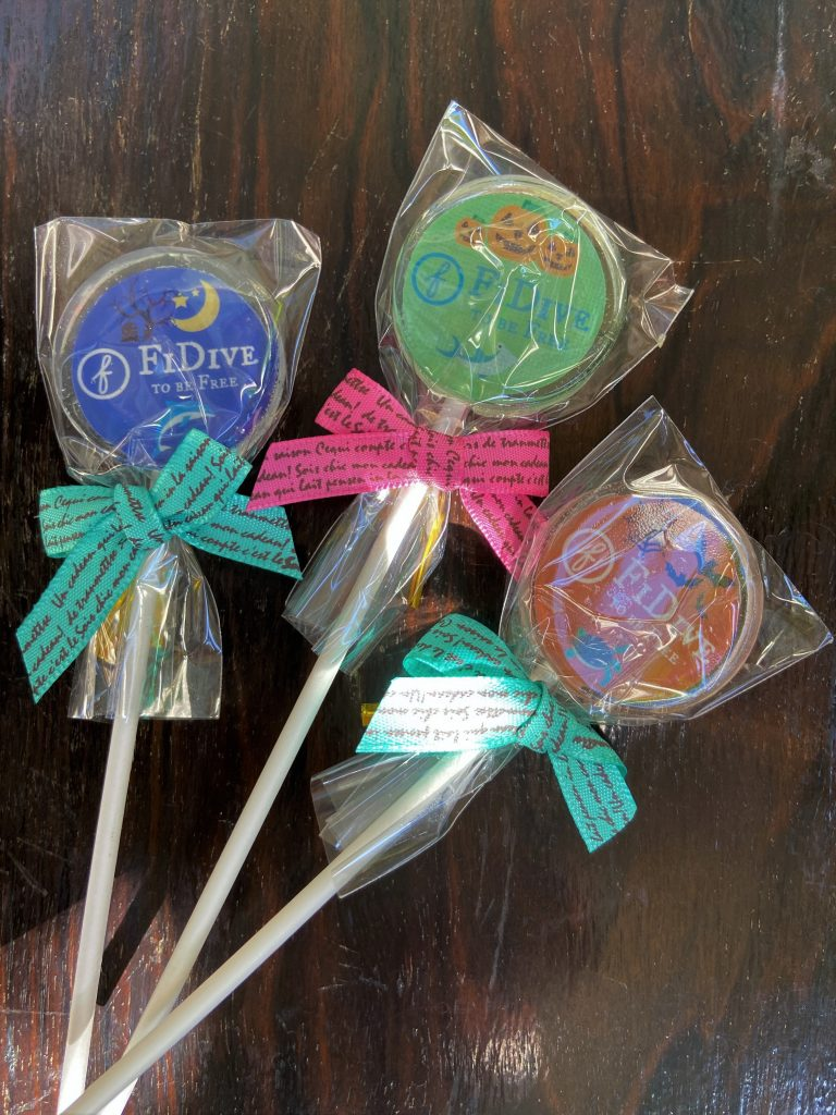 FiDive4Ocean Lollipops