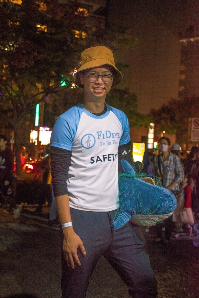 Halloween FiDive Safety Boy 2