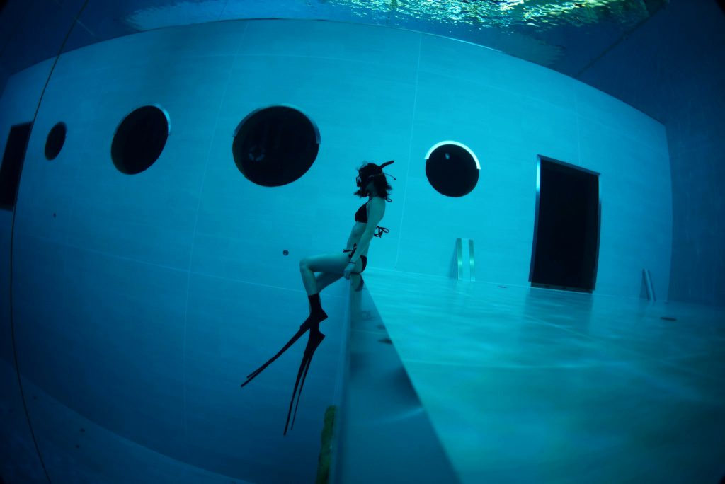 Divecube Hotel Freediving Pool FiDive