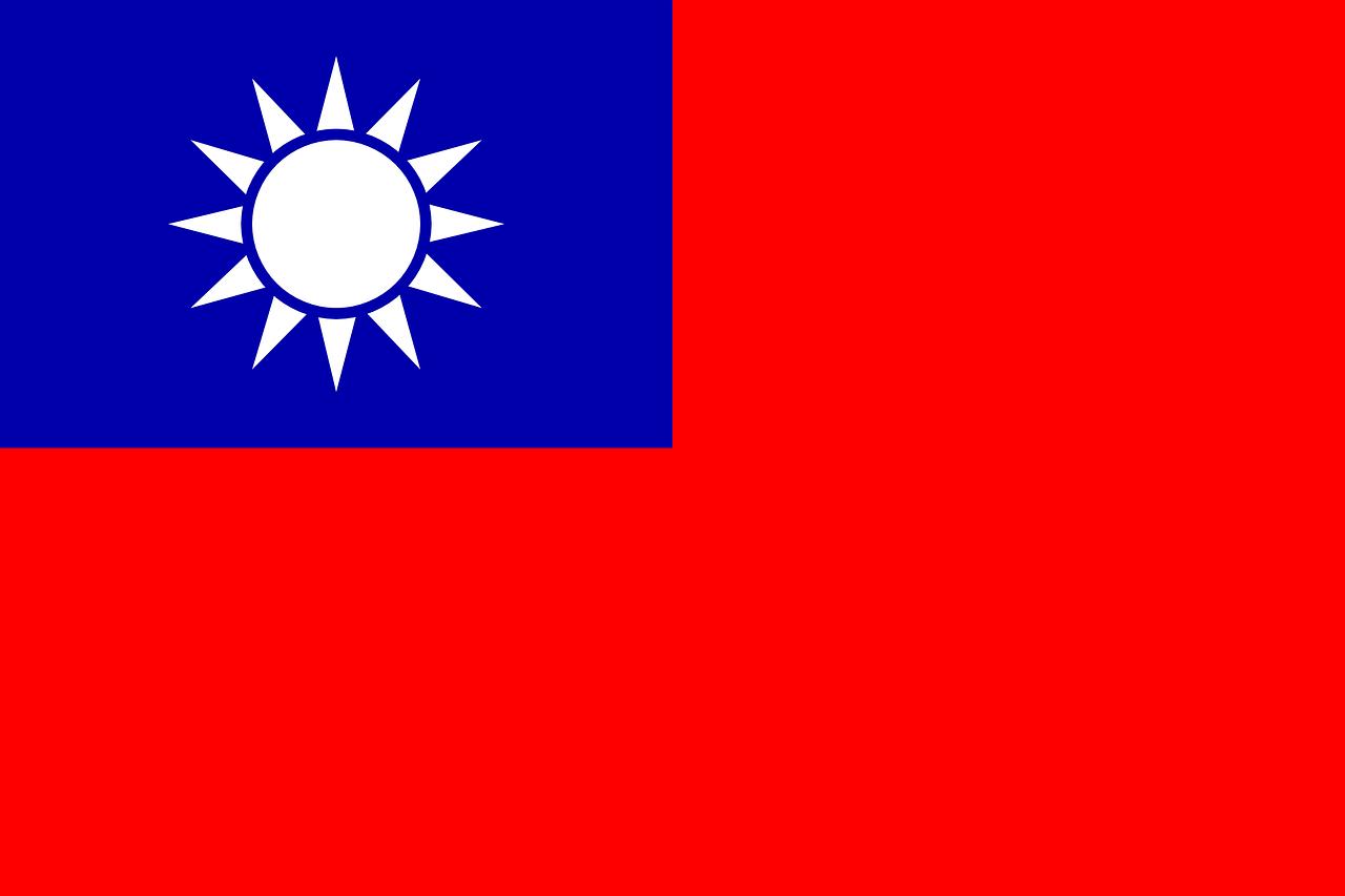 taiwan, flag, republic of china