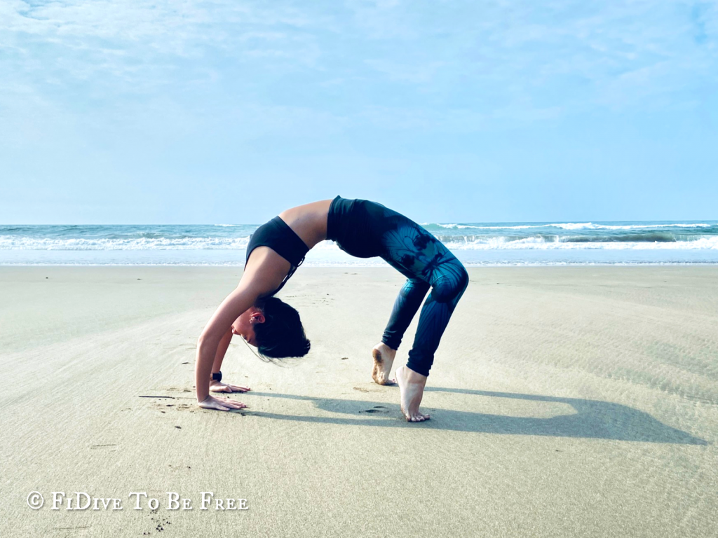 Wheel (Pointed Toes) Pose